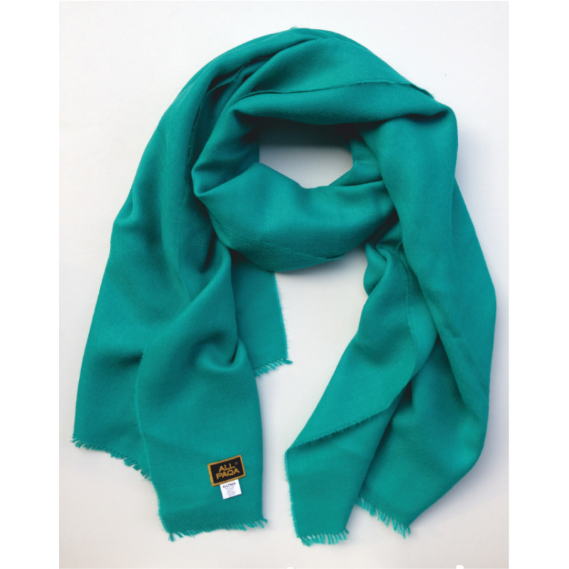 Scarf Stole in turquoise
