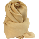 Scarf Stole in Alpaca wool beige light