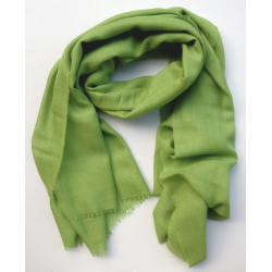 Scarf Shawl in Alpaca color apple green