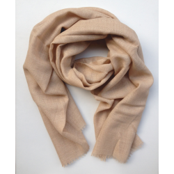 Scarf Stole baby alpaca light brown